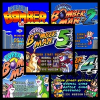 Super Coleccion De Bomberman [1-2-3-4-5]+ Emulador